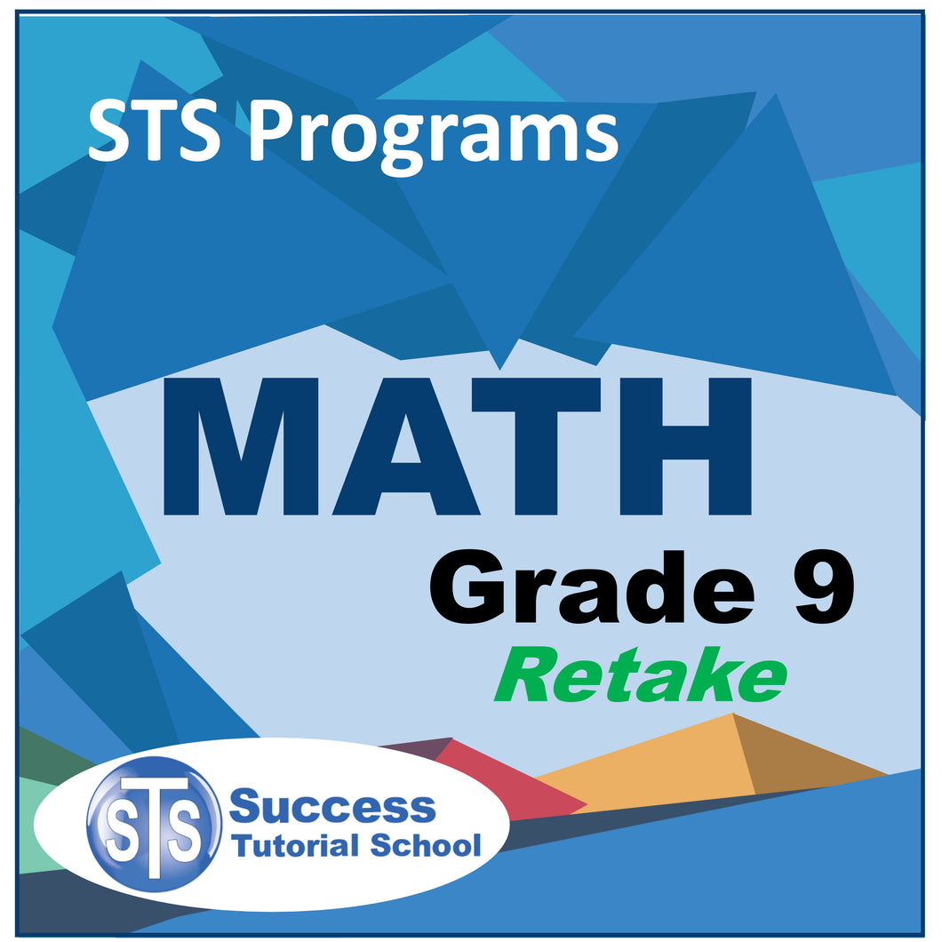Grade 9 Math - Retake Course