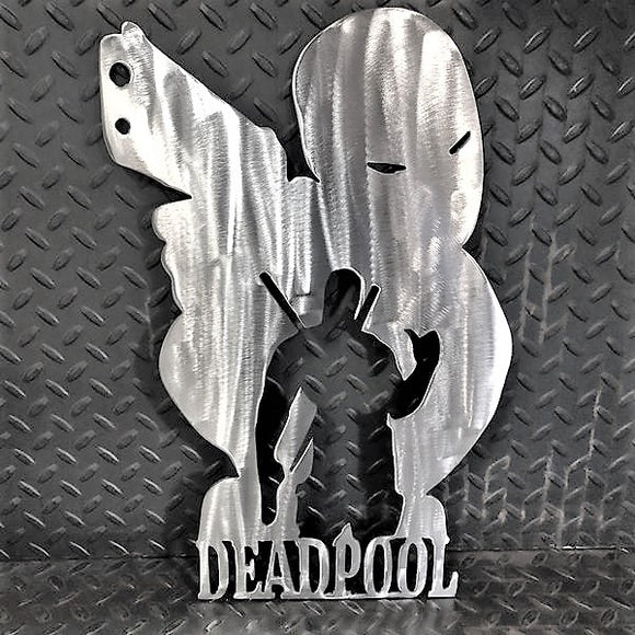 Deadpool Metal Wall Art