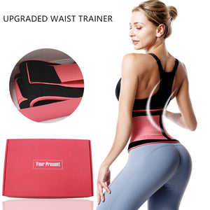 Upgraded Waist Trainer-Ab Belt for Weight Loss