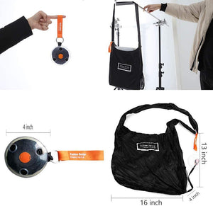 Portable Folding Telescopic Supermarket Shopping bag