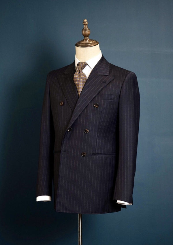 Sample Jacket - Dugdale Spectrum (Navy Pinstripe)