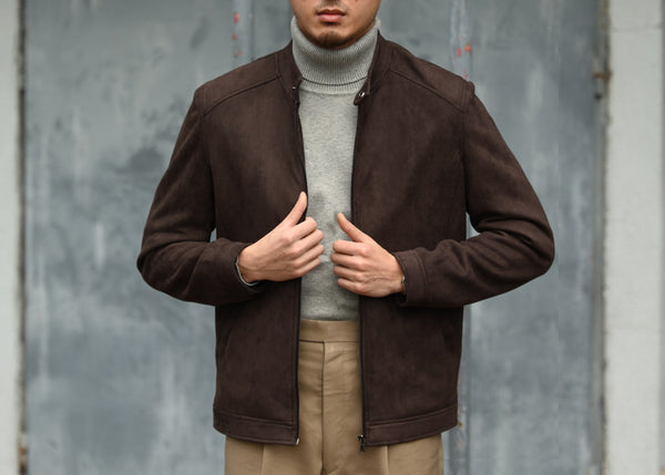 Rider Jacket (Brown)