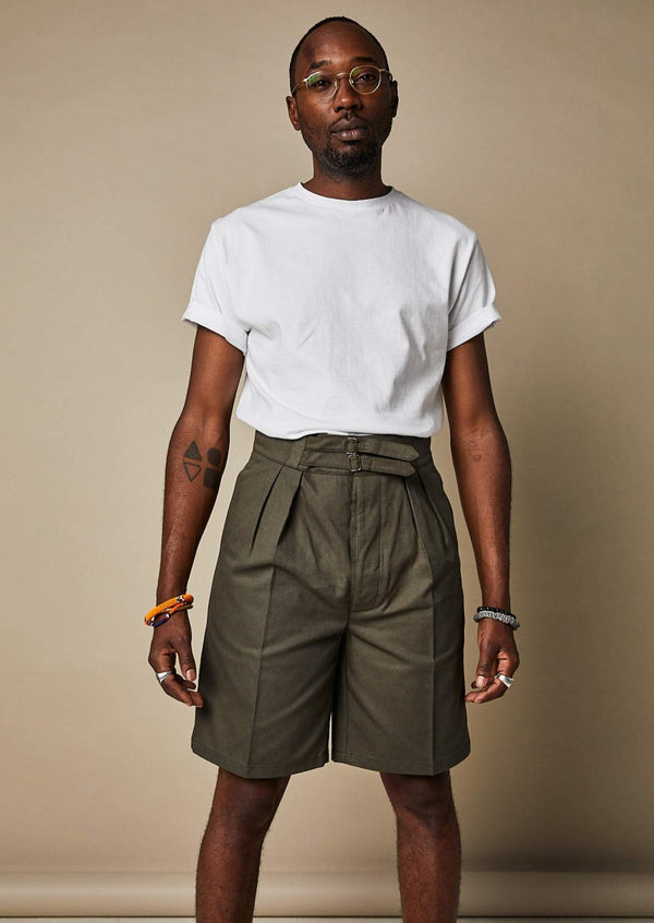 S011 Safari Shorts (Olive)