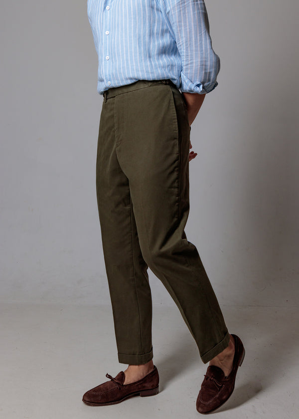 Cotton Chino (Olive)
