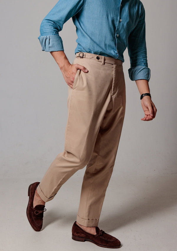 Cotton Chino (Khaki)