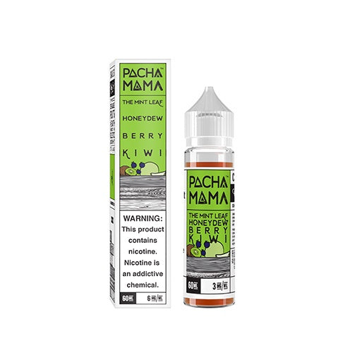 The Mint Leaf Honeydew Berry Kiwi 50ml - Pacha Mama