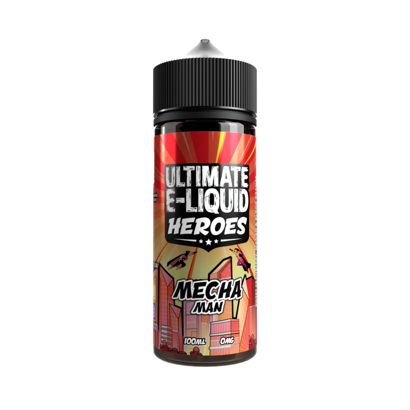 Mecha Man Heroes 100ml - Ultimate Puff