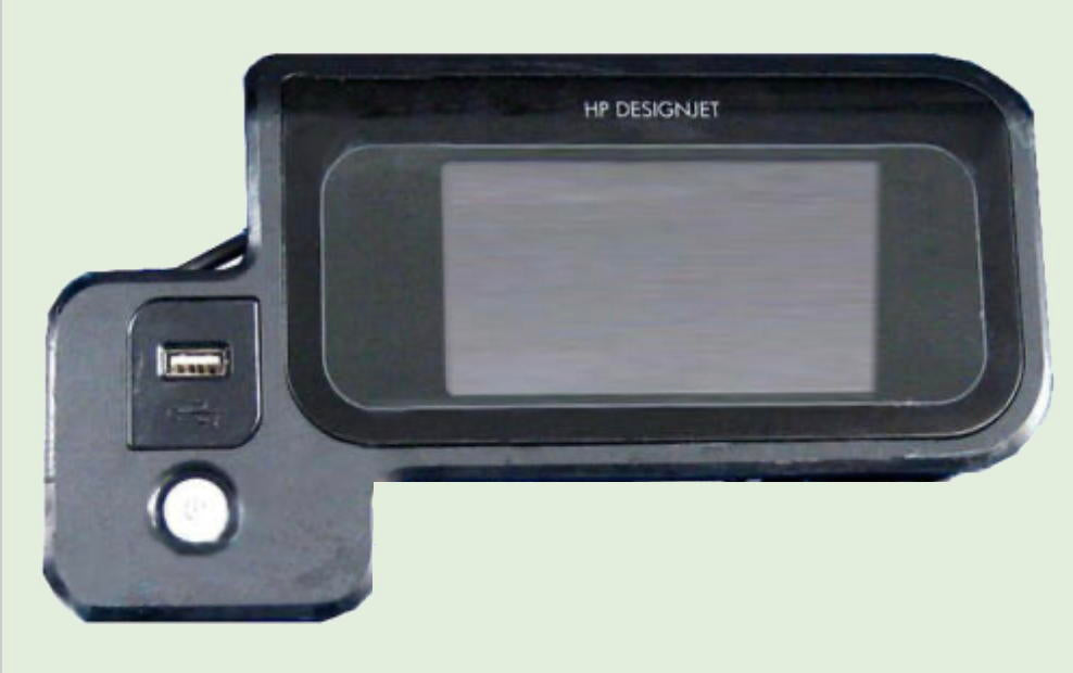 Designjet T790/T795/T1300/2300 Display Control Panel | HP CN727-67019