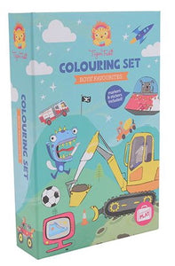 Colouring Set - Boys Favourites