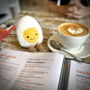 Boiled Egg Soft toy