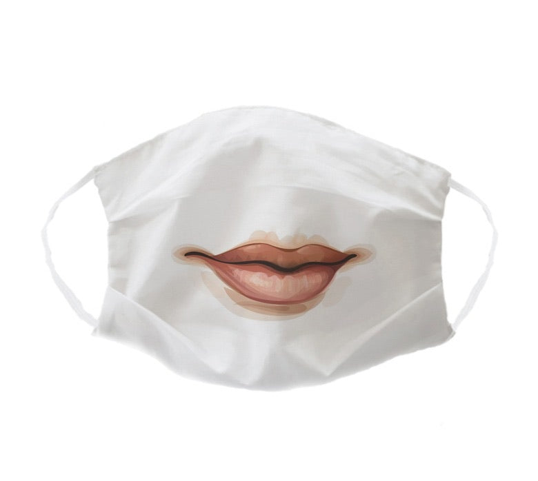 Ladies Lips Mask