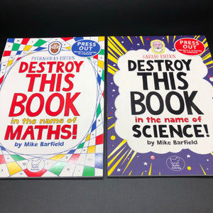 Destroy This Book in the Name of Maths