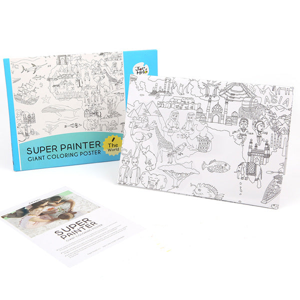 Super painter pads - The works