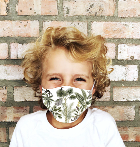 Botanical Mask for Kids