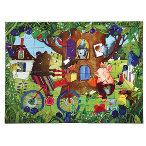 Bear on Bicycle - 20pc Puzzle