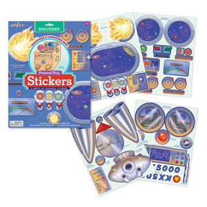 Pretend Play stickers -  Spaceship