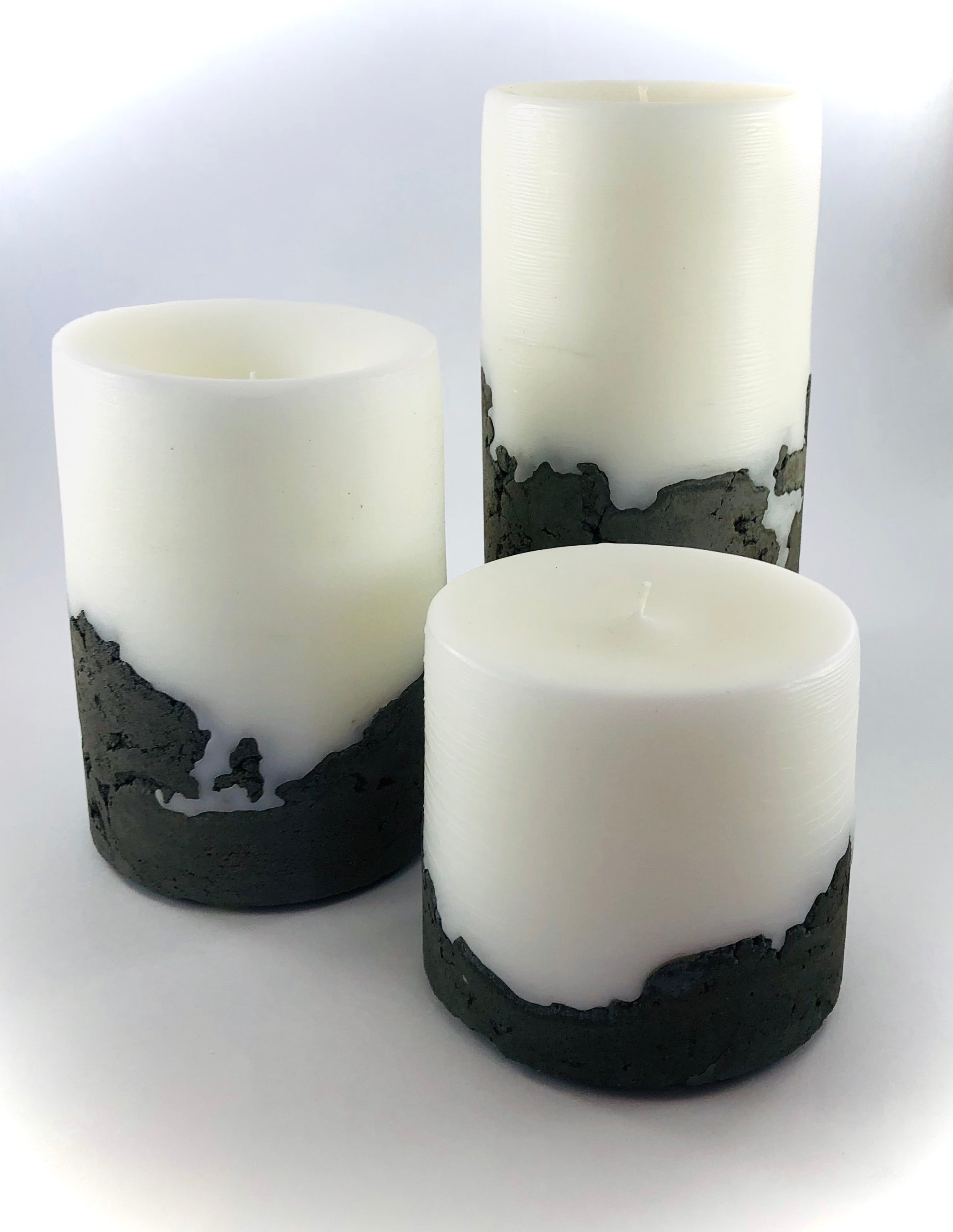 Hand-poured Cement Based Artisan Candle