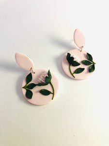 Handmade Clay Earrings Drops