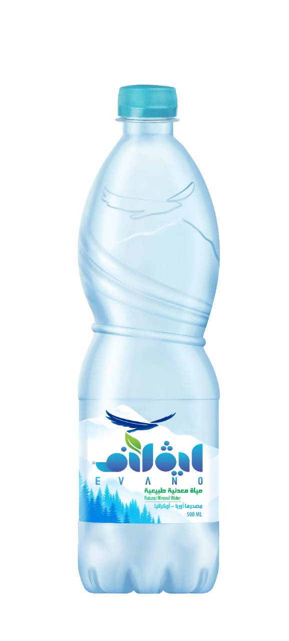 Evano Natural Mineral Water (Plastic)