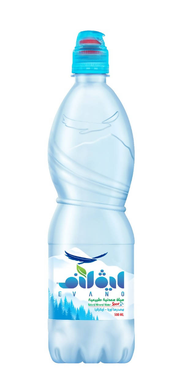Evano Sport Natural Mineral Water (Plastic)