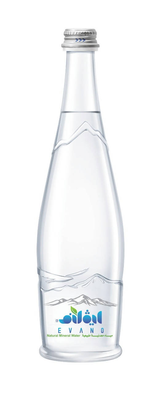 Evano Natural Mineral Water (Glass)