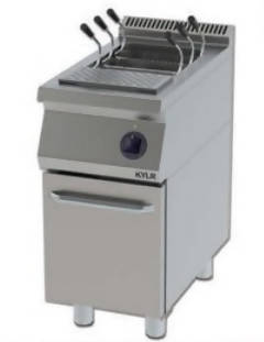 Potato slicer with cabinet