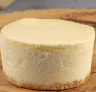 The original cheesecake is small