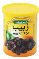 Dried raisins from California