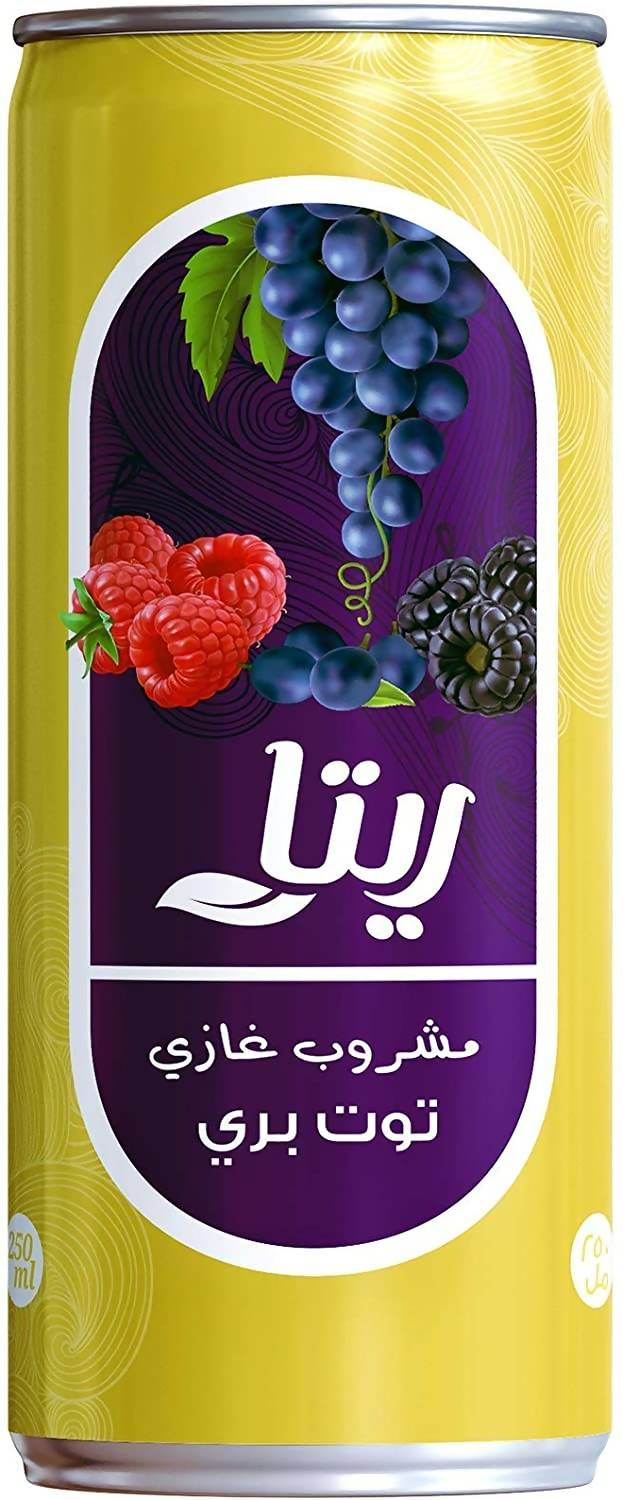 Soft drink Rita berries energy cans