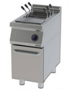 Makarna cooking machine with cabinet
