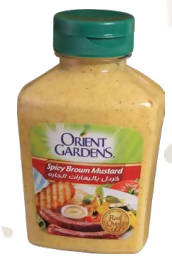 Mustard with hot pepper