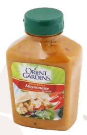 Spicy mayonnaise with pepper