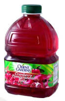 Cranberry and pomegranate juice