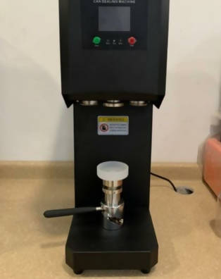 Sealing machine for Pepsi cups