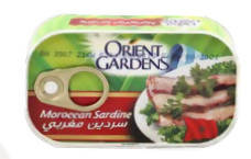Moroccan sardines in soy oil are easy to open
