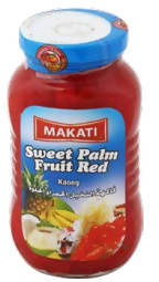 Sweet red palm fruit