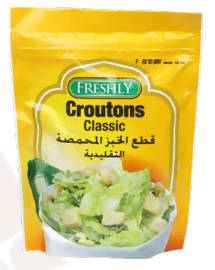 Traditional croutons