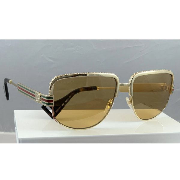 Gucci 0585S in c3:DME CODE:V2025