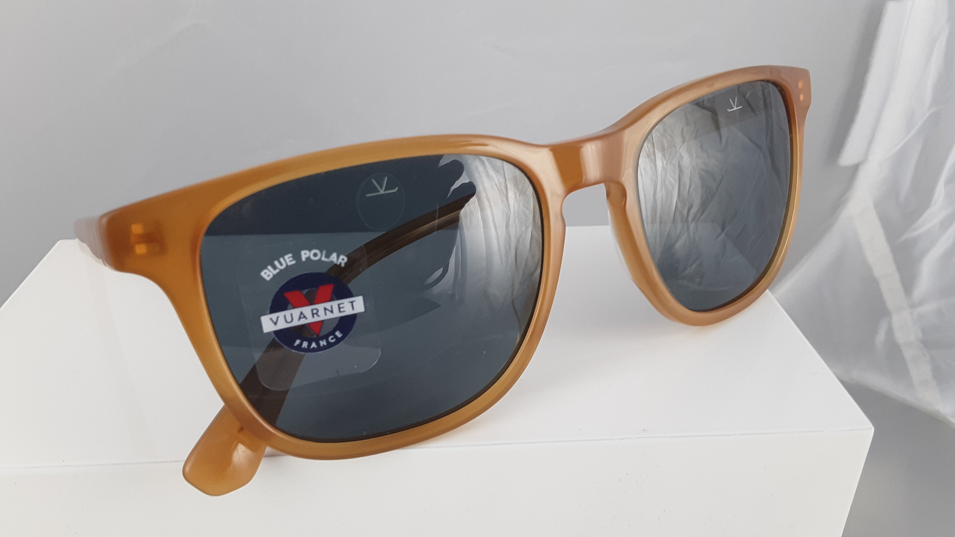 Vuarnet blue polar orange brown sunglasses