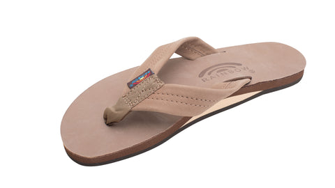 "Rainbow Women's Sandal Single Layer w/ Arch Support and 1"" Strap"