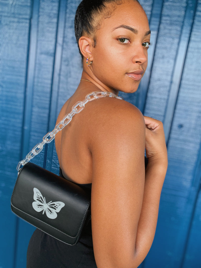Come Thru Reflective ButterFly Bag