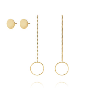CIRCLE EARRING JACKETS