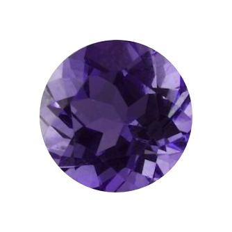 AMETHYST(for large spinning stone earrings)