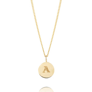 PERSONALISED BABY DISC NECKLACE