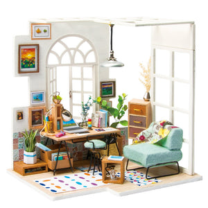 """Soho Time"" DIY Miniature Room"
