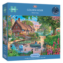 Load image into Gallery viewer, Golden Hour 1000pc Gibsons Jigsaw Puzzle