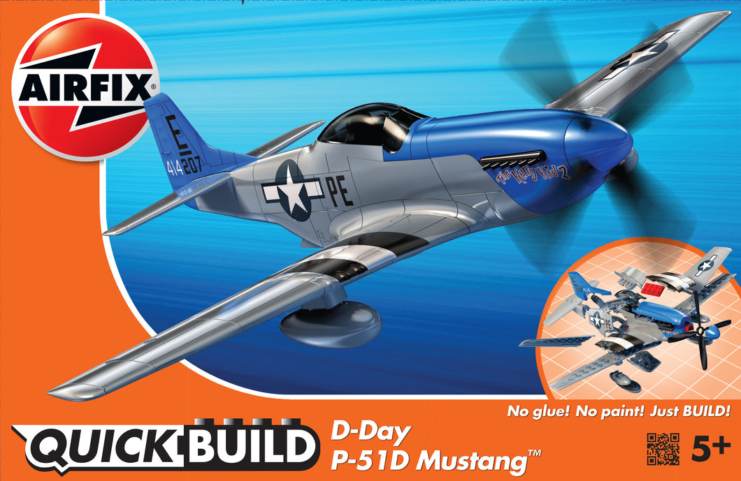 QUICKBUILD D-Day P-51D Mustang