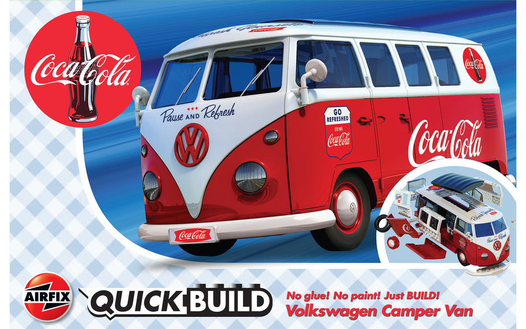 QUICKBUILD Coca-Cola VW Camper Van
