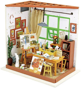 """Ada's Studio Room"" DIY Miniature Room"