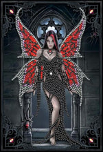 "Load image into Gallery viewer, ""Aracnafaria"" 26x18cm Crystal Art Notebook ANNE STOKES"